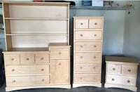 Like New Kid's Bedroom Set with Headboard and Full Sized Mattress  Scotch Plains, 07076