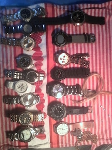15 mens watches 11 are brand new