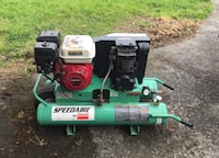 Speedaire compressor with Honda 6.5 hp engine.  Hardly used. Well cared for