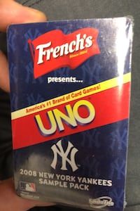 Unopened 2008 New York Yankees sample pack French's Uno cards Grimsby, L3M 1W7