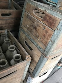 Huge Antique Dairy Crates, Bottles, and More Lehighton, 18235