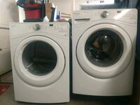 Whirlpool Washer and Dryer Sun City