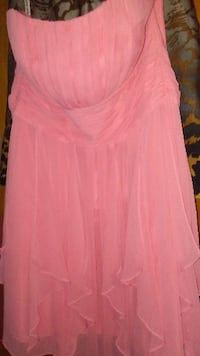 Sz 10 Peach dress