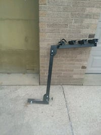 Bike rack for trailer hitch