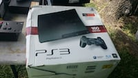 black Sony PS3 slim console with box Houston, 77087