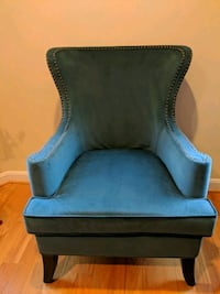 Plush Teal Accent Chair Washington, 20011