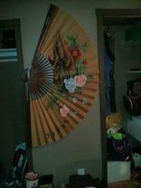 Selling this really big fan for the wall Nanaimo, V9X 1L5