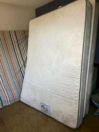 Mattress pillow top. ,and box spring size Queen North Las Vegas, 89030