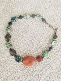 Beautiful necklace made of real stones New Westminster, V3L 2Z7