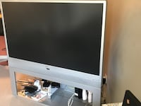 Tv works great just to big for the space comes with stand  Edmonton, T6W 1T2
