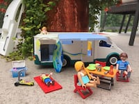 Spring Break Boredom Buster! Playmobil camping motorhome toy set null, T7X 2C2