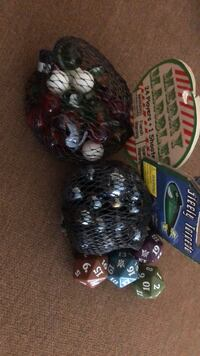 marbles and 4 individual dice  Sayreville, 08872