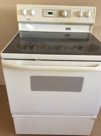 white and black induction range oven Winter Haven, 33884