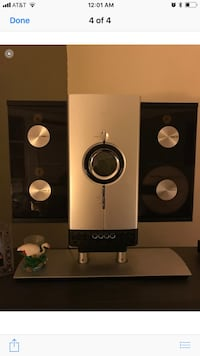 black and white home theater system New York, 11208