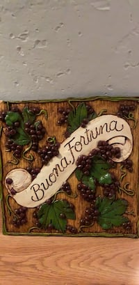 Handmade buona fortuna Italian wall decor  Morristown, 07960