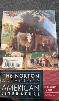 The Norton Anthology American Literature Volume A