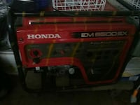red and black Troy-Bilt portable generator Montebello, 90640