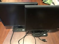 """2 x 19"""" monitors with VGA connection Mississauga"""