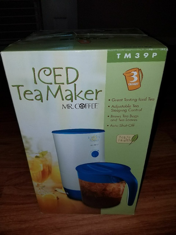 Mr. Coffee Iced Tea maker - brand new! cfebe9f3-180c-43b3-ab36-f135f7e05e18