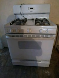 white and black gas range oven San Antonio, 78247