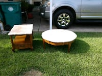 Matching coffee table and end table Pasadena, 77506