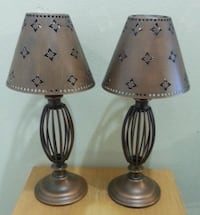 Pair of Heavy Candle Lamps  Mississauga, L5N 3M4