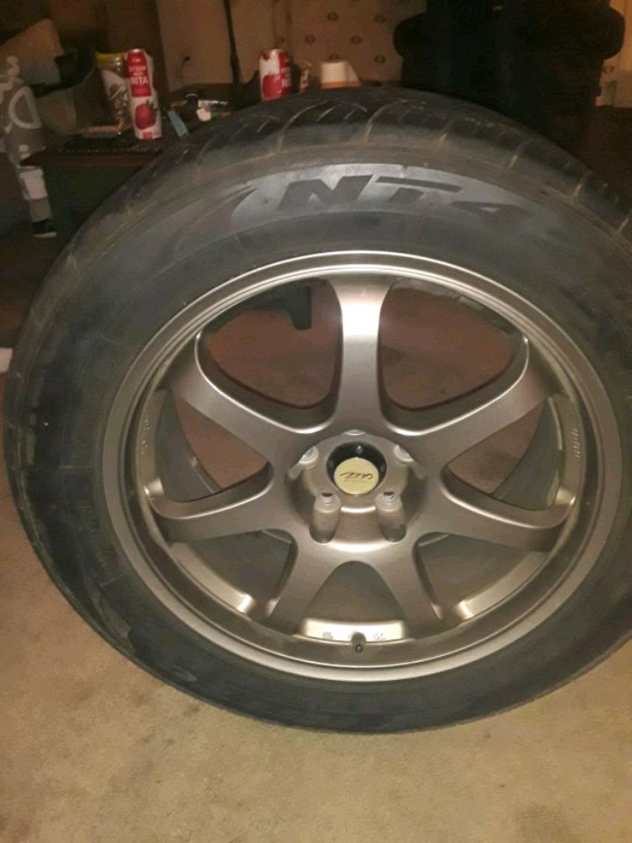 Photo Mb motorsport 18'rims with low pro tires