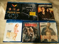 four assorted Blu-ray movie cases Eugene, 97401