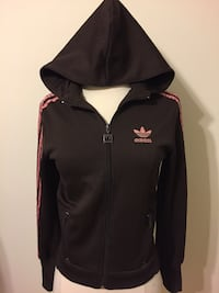 Adidas zip up hoodie. perfect condition Small