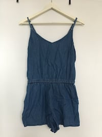 Women's denim romper 535 km
