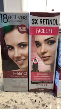 Retinol Anti Aging Serum and Wrinkle Reducer Cream Calgary, T2P 5L3