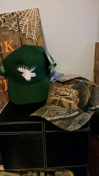 2new hunting hats both for 15 Hamilton