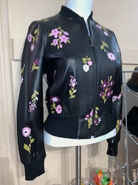 Brand new Kate Spade In Bloom Leather Bomber Jacket Milton, L9T 4K1