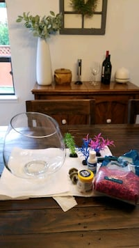 fish bowl and accesories