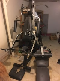 black and gray exercise equipment Newtown, 45244