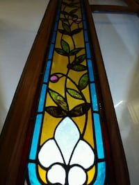 1880s stained glass window. Highwood, 60040