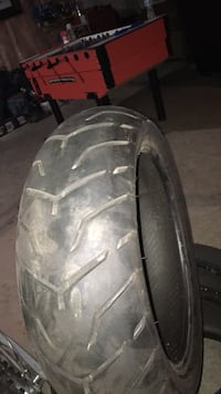 Motorcycle tires 2 Dunlop D [PHONE NUMBER HIDDEN] , they were made 2014 and are rear tires Richmond Hill, L4C 0S4