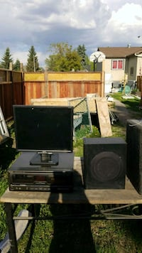 black and gray home theater system Edmonton, T5P 1M8
