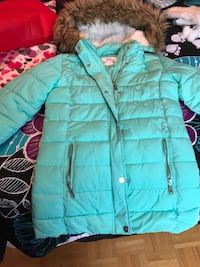 Justice Mint Blue Winter Coat (Size 12/14) Toronto, M3J 1S8