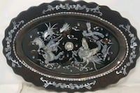 Chinese center piece plate brown dragon  Lee's Summit, 64081