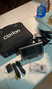 "Clarion Nice navigation/MP3 player system 7""screen 20g hard drive"