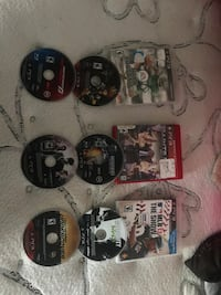Assorted sony ps3 game discs Corpus Christi, 78411