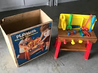 Collectors Item - Playskool tool bench 36 mi