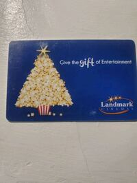 $25 Movie Gift Card Cambridge, N1T 1S6