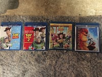 Disney Toy Story 1,2&3 and a bonus Lion king 3D  Diamond edition Alexandria, 22309