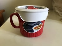 CorningWare Mug with vented cover