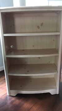 Priced to sell! White washed bookshelf. Falls Church, 22043