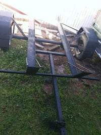 black and gray utility trailer Palm Bay