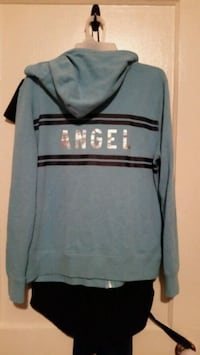 PINK angel Large zip up hoodie