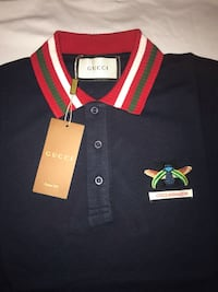black and red polo shirt 602 mi
